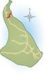 Elmebjergvej er markeret med rødt